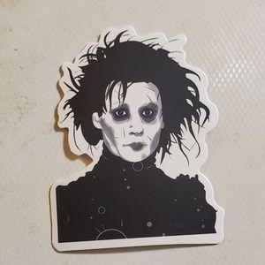 Other - Edward scissorhands sticker